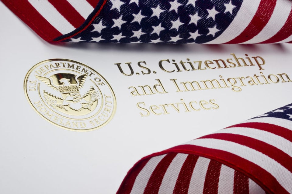 U.S. citizenship and flags